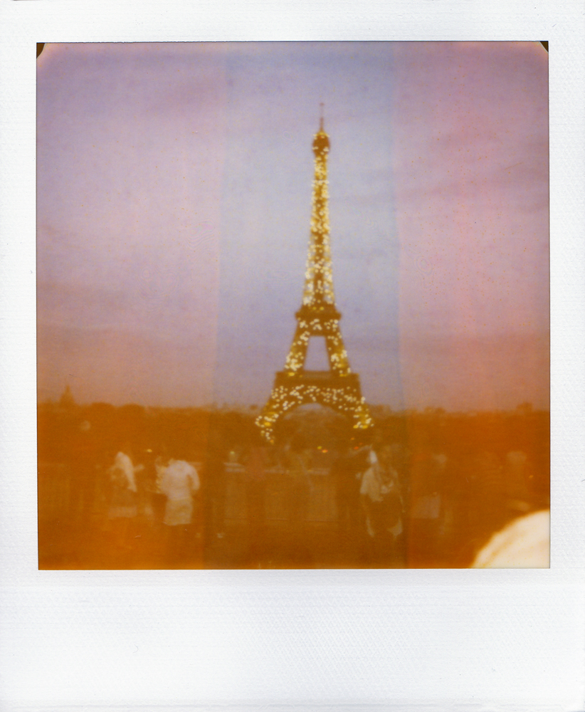 Polaroid Perfection - Paris Eiffel Tower