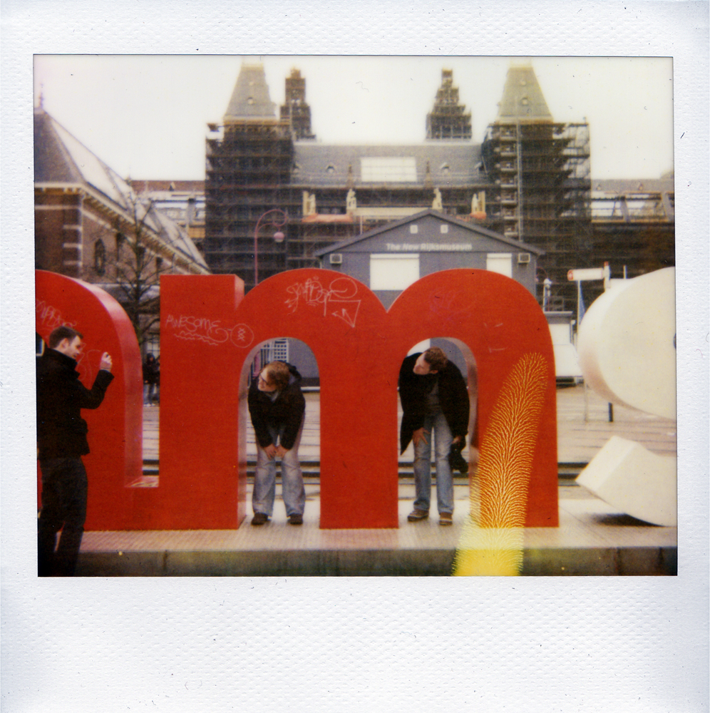 Polaroid Perfection - Amsterdam