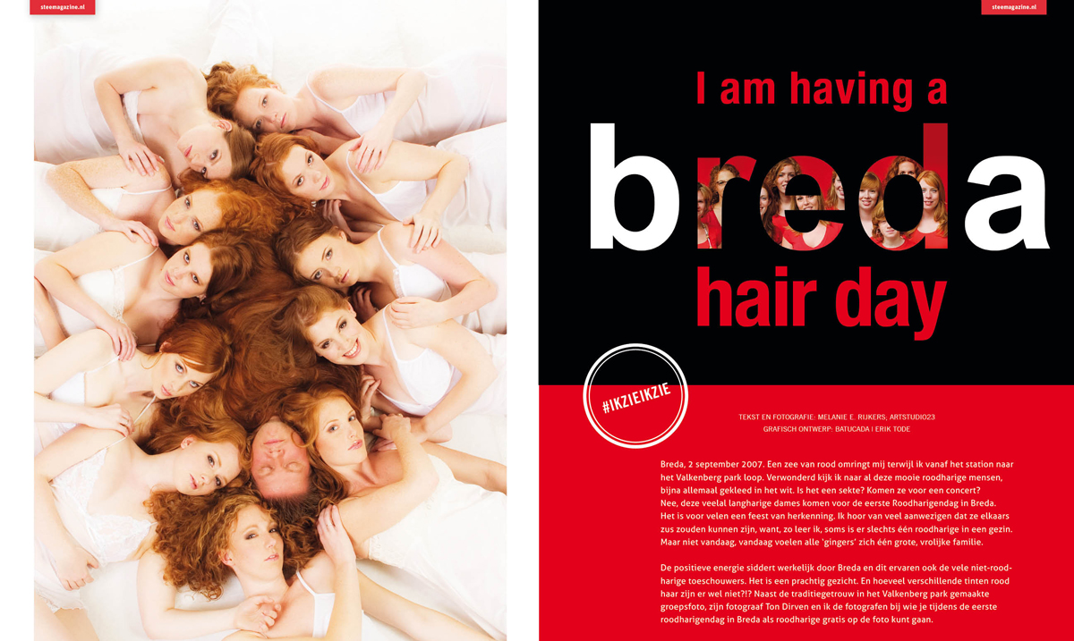 Article on Redhead Days Breda for Stee Magazine
