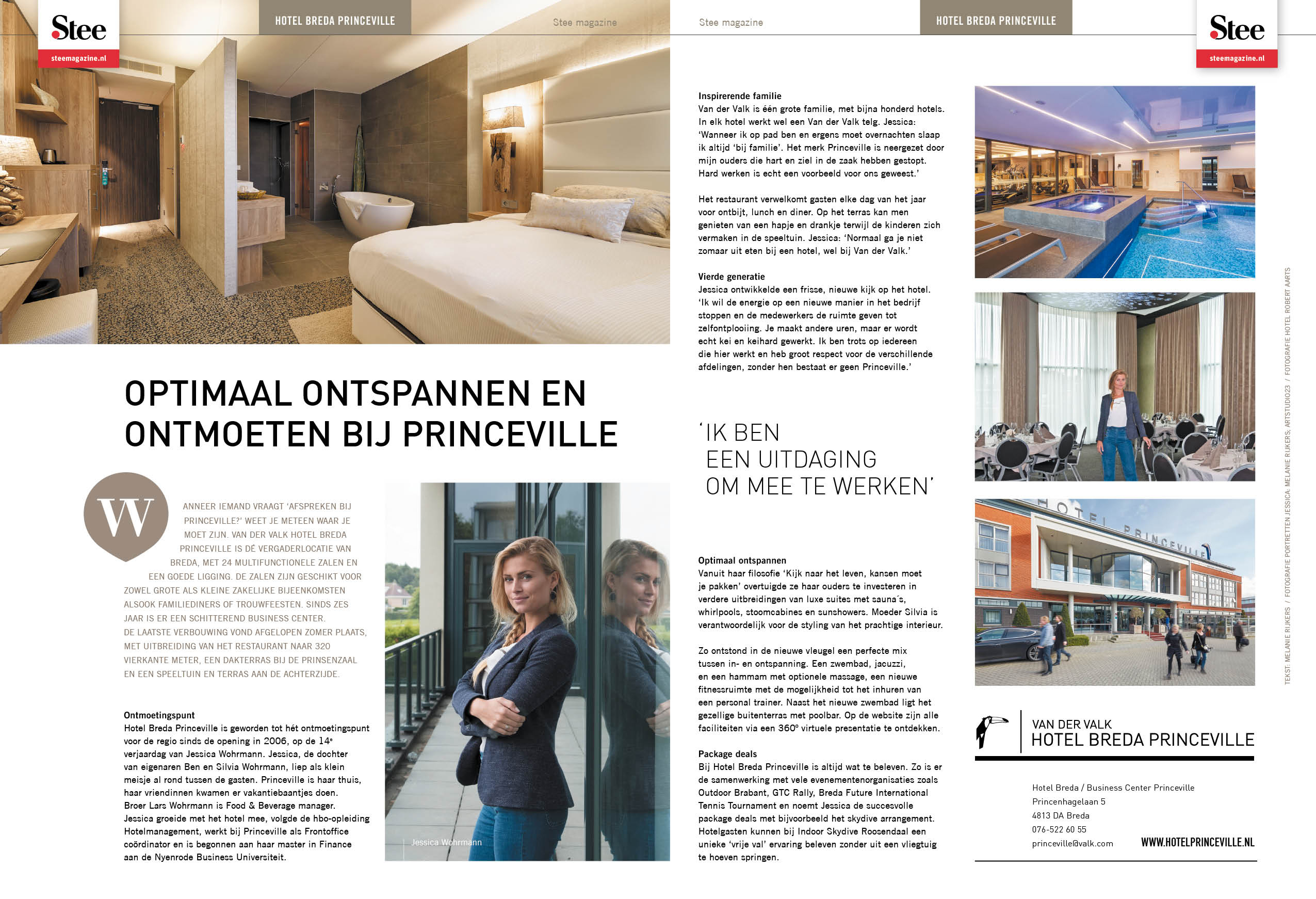 Article on Princeville for Stee Magazine